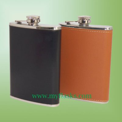 flask with wrap