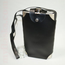 half gallon flask with carrying sheath