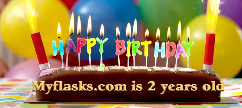2nd anniversary of myflasks.com