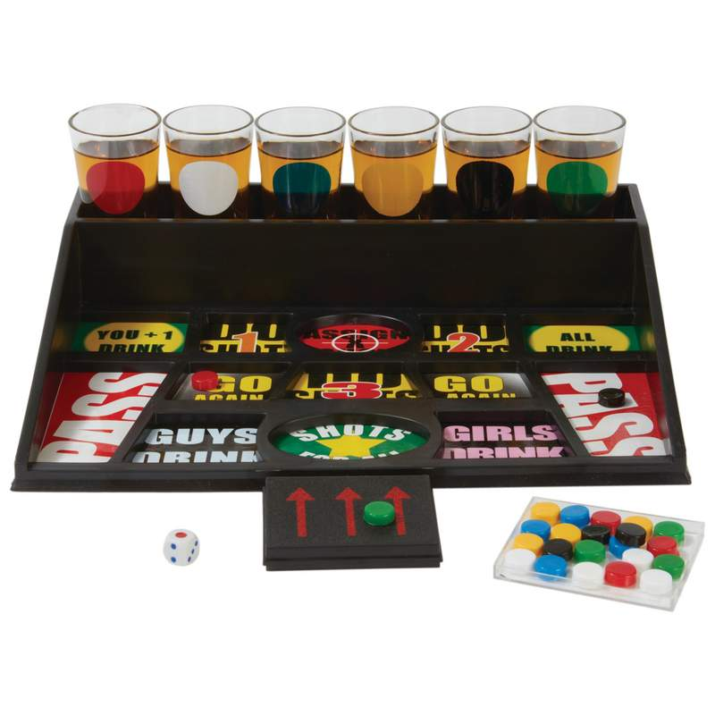 Shot Glass Drinking Game — 31 pc Set – The Flask Store