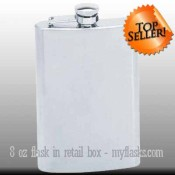 8oz flask top seller