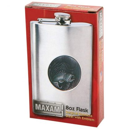 flask fish in box