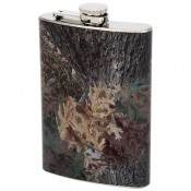 Maxam® 8oz Stainless Steel Flask with Camouflage Wrap 1