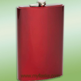 huge flask red