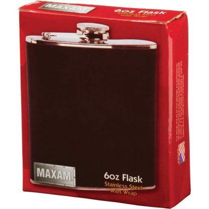 flask with wrap 6oz
