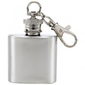 Maxam® 1oz Stainless Steel Keychain Flask 1
