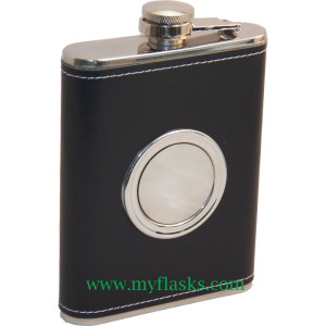 flask with cup