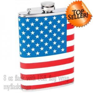 usa flag flask top seller