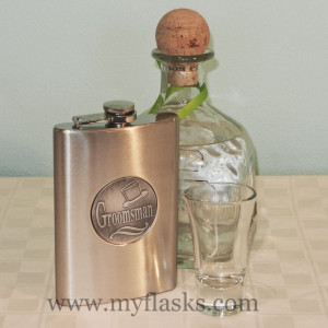 groomsmen gifts flask