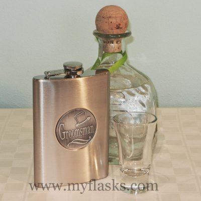 groomsmen gifts flask