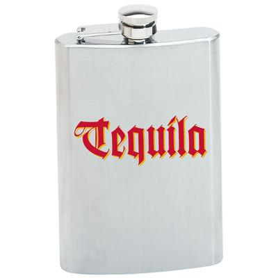 flask tequila 8oz stainless steel