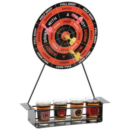 shot glass drinking game darts