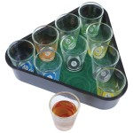 shot glass drinking game pool