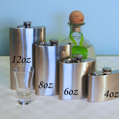 basic flask sizes
