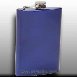 blue flask for man