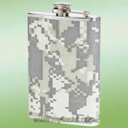 flask for dad camo