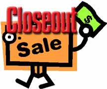 flask sale closeout sale
