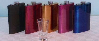 mardi gras flasks for men