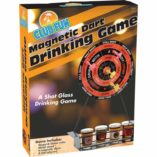 dart board drinking game box