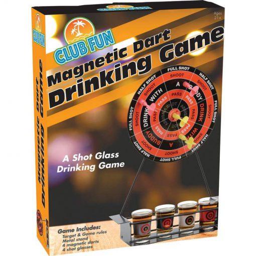 dart board drinking game box