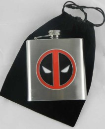 comic featured man's flask