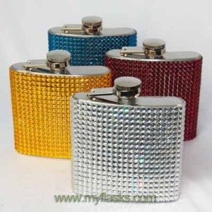 hip flask bling