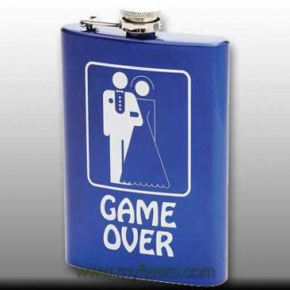 flask for man groom gift