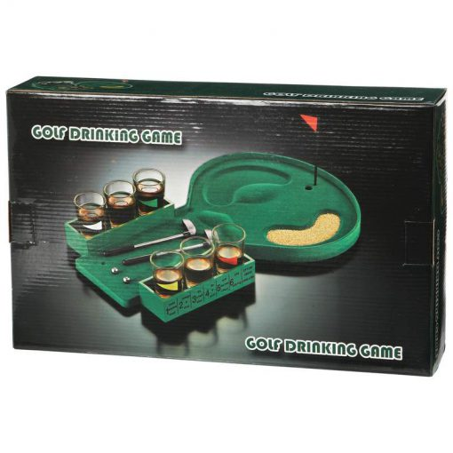golf drinking game box