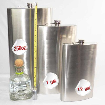 huge flasks gallon