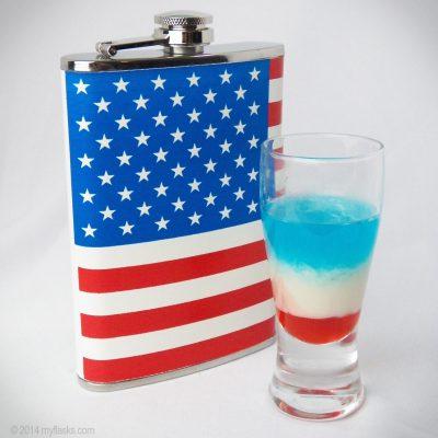 flag flask