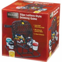 lottery drinking game box