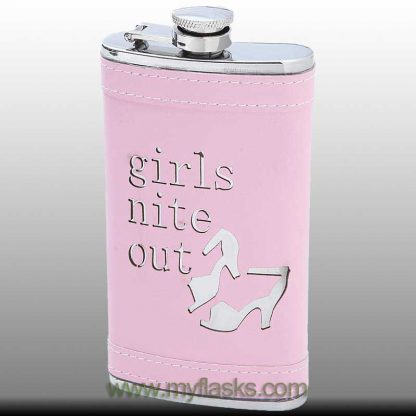 pink flask girls night out
