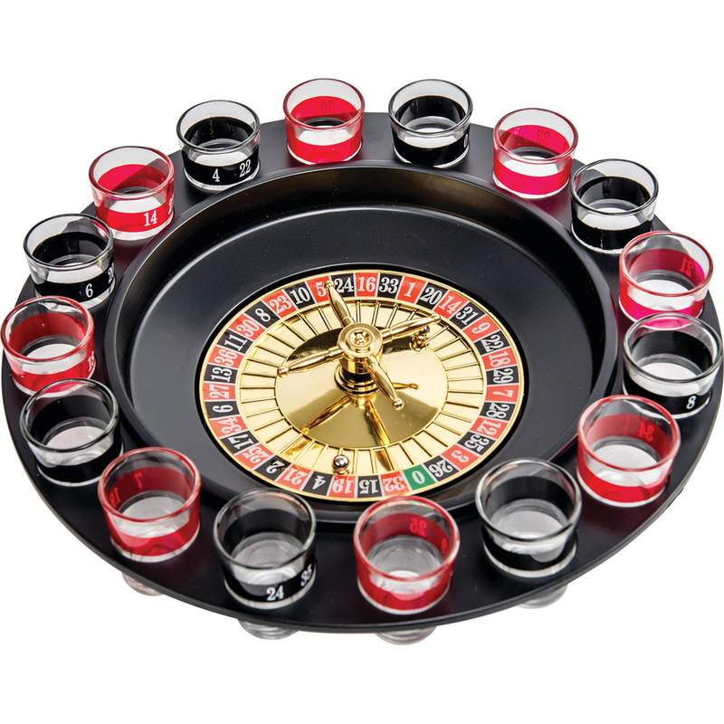 A small steel roulette ball rolls around