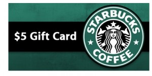 starbucks gift card when you order